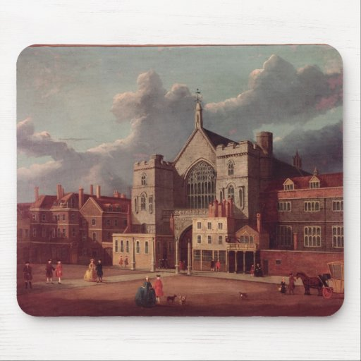 Westminster Hall and New Palace Yard Mouse Pad