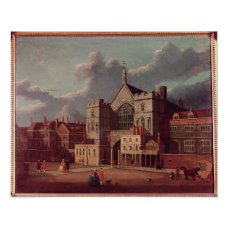 Westminster Hall and New Palace Yard Poster
