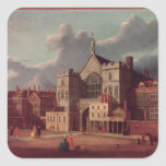 Westminster Hall and New Palace Yard Square Sticker