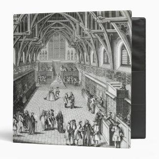 """Westminster Hall, el primer día de término Carpeta 1 1/2"""""""