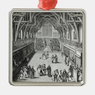 Westminster Hall, el primer día de término Adorno
