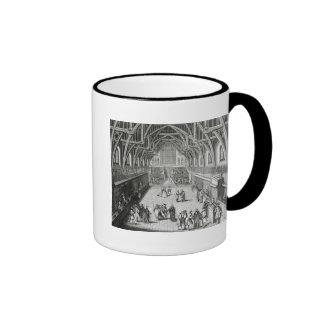 Westminster Hall, el primer día de término Taza De Café