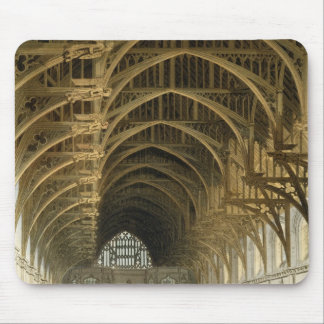 Westminster Hall, engraved by J. Bluck  pub Mouse Pad