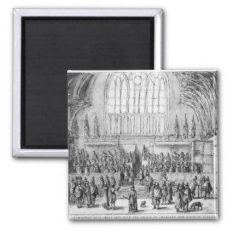 Westminster Hall Imán Cuadrado