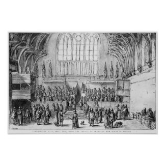 Westminster Hall Poster