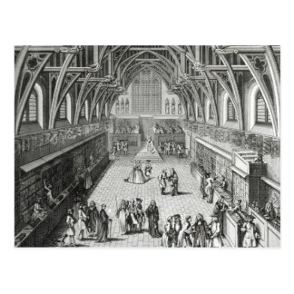 Westminster Hall, The First Day of Term Postcard