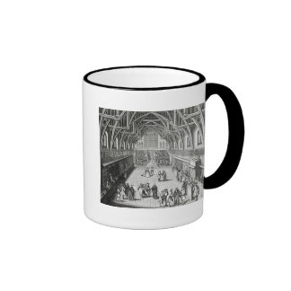 Westminster Hall, The First Day of Term Ringer Coffee Mug
