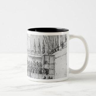 Westminster Hall Two-Tone Coffee Mug