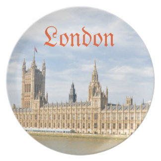 Westminster in London, UK Melamine Plate