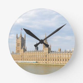 Westminster in London, UK Round Clock