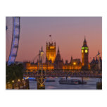 Westminster, London, England Post Cards