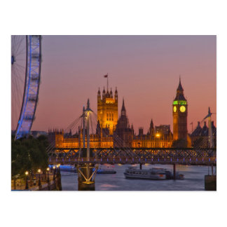 Westminster, London, England Postcard
