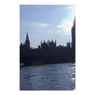Westminster Palace - Houses of Parliament Custom Stationery