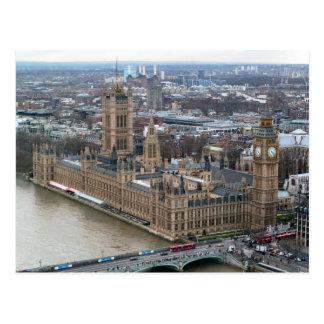 Westminster Palace London Postcard