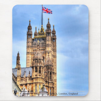 Westminster Palace Tower London, England, UK Mouse Pad