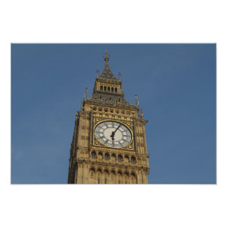 Westminster Town Clock Photo Print
