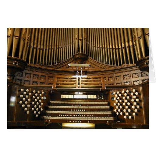 Westminster unió la tarjeta del órgano de la