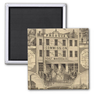 Westmoreland County, Pennsylvania 2 Inch Square Magnet