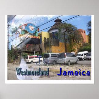 Westmoreland Jamaica Poster