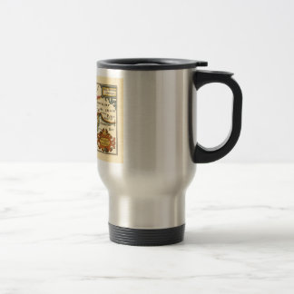 """Westmorland and Comberlad"" Old Cumbria County Map Travel Mug"