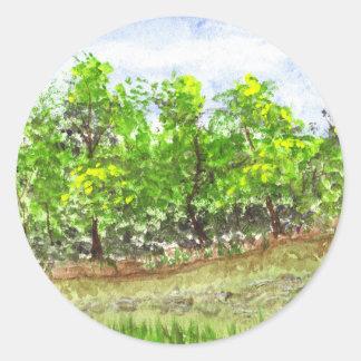 Weston Brook Classic Round Sticker