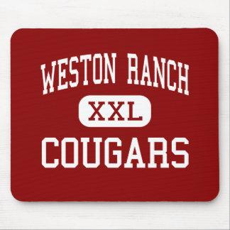 Weston Ranch - Cougars - High - Stockton Mouse Mats