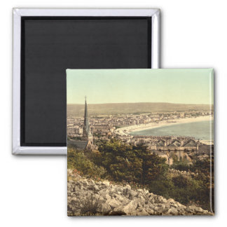Weston-super-Mare II, Somerset, England 2 Inch Square Magnet