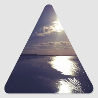 Weston Super Mare Triangle Sticker
