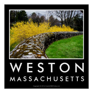 Weston Town Green Wall Poster
