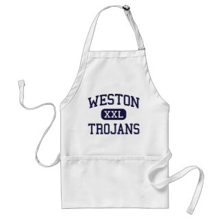 Weston - Trojans - High - Weston Connecticut Aprons