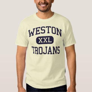 Weston - Trojans - High - Weston Connecticut Shirt
