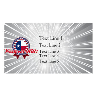 Westover Hills, TX Business Card Templates