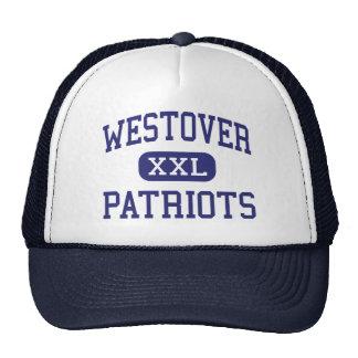 Westover - Patriots - High School - Albany Georgia Trucker Hat
