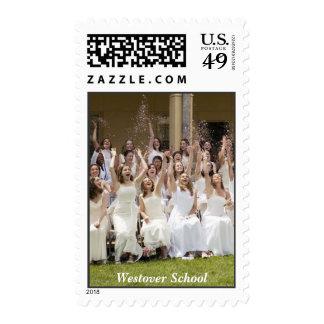 Westover School Stamp