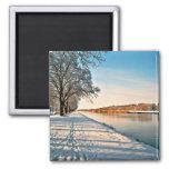 Westphalia Germany Winter Landscape Fridge Magnet