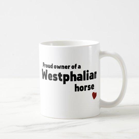 Westphalian horse coffee mug
