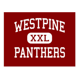 Westpine - Panthers - Middle - Sunrise Florida Postcard