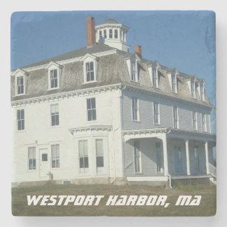 Westport Harbor, MA - Acoxet Stone Coaster