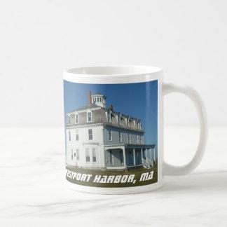 Westport Harbor, Mass Classic White Coffee Mug