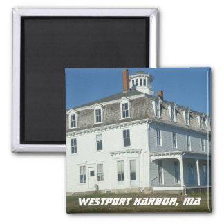 Westport Harbor, Mass - Historical Summer Colony Magnet