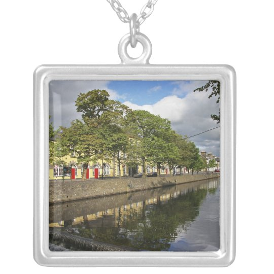 Westport, Ireland. The Atlantic town of Silver Plated Necklace