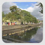 Westport, Ireland. The Atlantic town of Square Sticker