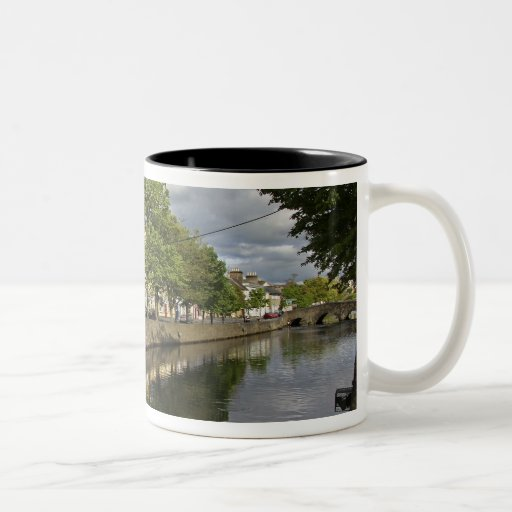 Westport, Ireland. The Atlantic town of Two-Tone Coffee Mug