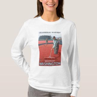Westport, WashingtonCranberry Bog Harvest T-Shirt
