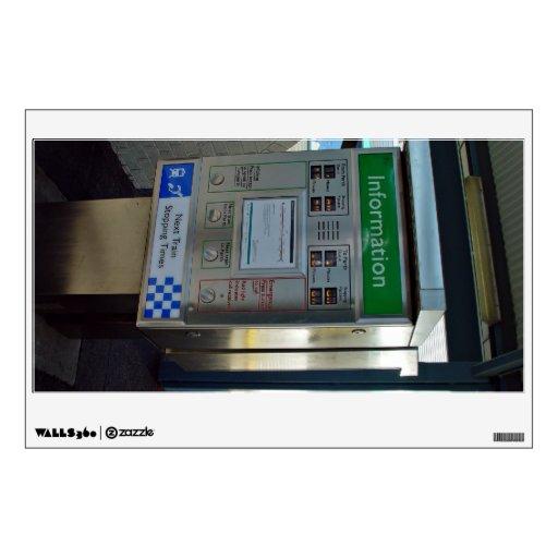WestRail/TransPerth timetable display Wall Skin
