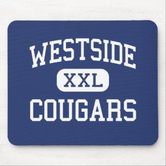 Westside Cougars Middle Marion Alabama Mouse Pad