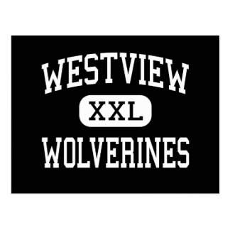 Westview - Wolverines - High - San Diego Postcard
