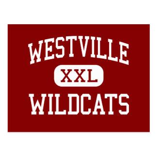 Westville - gatos monteses - joven - Westville Postales