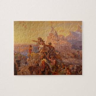 Westward Ho! - Emanuel Leutze (1860) Jigsaw Puzzle