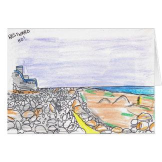 Westward Ho! (North Devon) Card